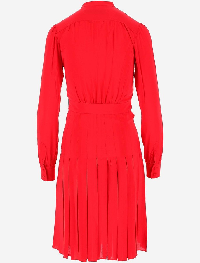 Thumbnail for your product : Golden Goose Pure Red Silk Women's Dress