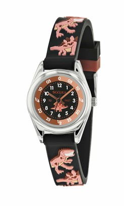 Tikkers Unisex Child Analogue Classic Quartz Watch with Silicone Strap TK0185