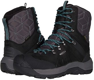 Keen Revel IV High Polar (Raven/North Atlantic) Women's Shoes