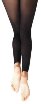 Capezio Big Girls Hold and Stretch Footless Tight