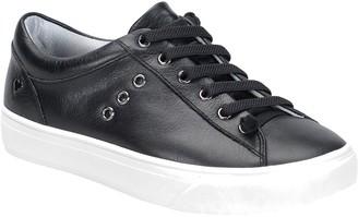 Nurse Mates Leather Lace Up Sneakers - Fenton