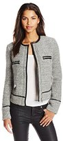 Joie Women's Foxworthy Knitted Boucle Jacket