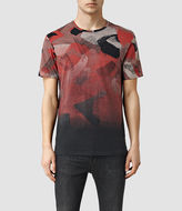 AllSaints Fragment Camo Crew T-Shirt