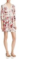 En Creme Long Sleeve Floral Dress - 100% Exclusive