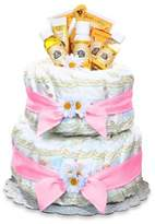 Bed Bath & Beyond Burt's Bees® Diaper Cake Centerpiece in Pink