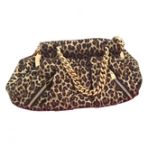 Christian Louboutin Leopard print Synthetic Handbag