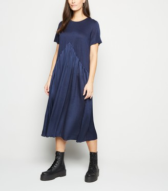 New Look Contrast Hem Dress