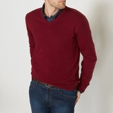 La Redoute Collections 100% Lambswool V-Neck Jumper