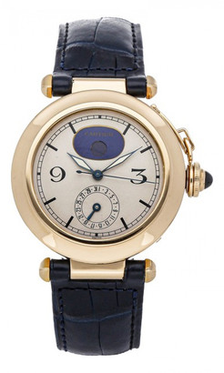 Cartier Pasha White Yellow gold Watches