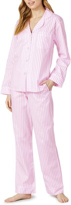 Bedhead Pajamas 3D Stripe Organic Cotton Sateen Pajamas