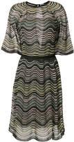 M Missoni wave striped midi dress