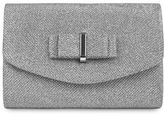 Jessica McClintock Alexis Bow Mini Flap Convertible Clutch