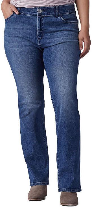 Lee Womens Mid Rise Bootcut Jean-Plus