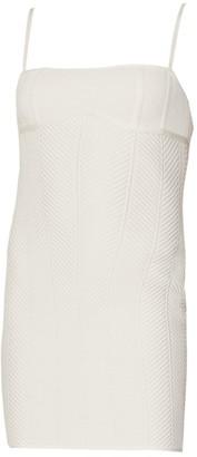 Herve Leger Contour Strappy Bodycon Mini Dress