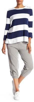 Joan Vass Cropped Terry Sweatpants