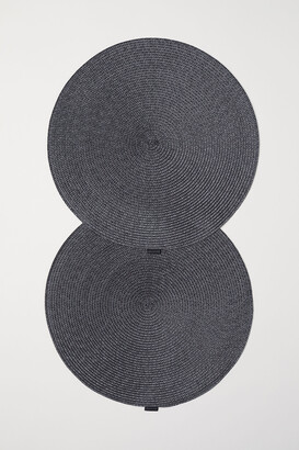 H&M 2-pack Round Placemats