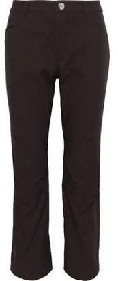 Sonia Rykiel Cropped Cotton-canvas Slim-leg Pants