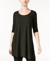 Eileen Fisher Jersey Scoop-Neck Tunic, A Macy's Exclusive Style