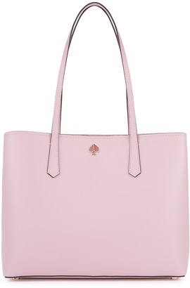 Kate Spade Molly large pink leather tote