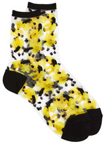 Dotti Mesh Banana 3Qr Crew Sock