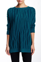 Vince Waterfall Ribbed Wool & Cashmere Blend Sweater