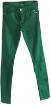 Marc Cain Green Cotton Trousers for Women