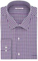 Van Heusen Men's Regular Fit Tattersall Spread Collar Dress Shirt