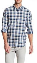 Nautica Long Sleeve Plaid Slim Fit Shirt