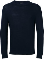 Jil Sander crew neck knitted sweater - men - Virgin Wool - 46