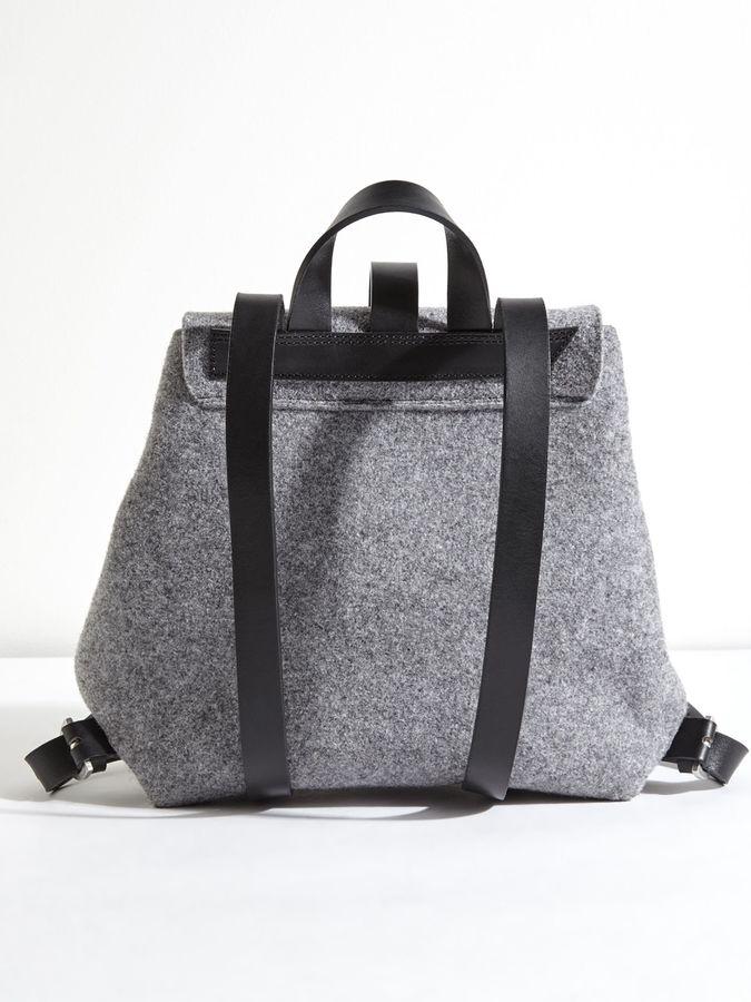 Jigsaw Blake Felted Wool Backpack
