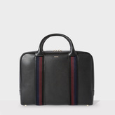 Paul Smith Men's Black Leather 'City Webbing' Slim Folio