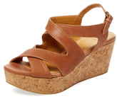 Coclico Mori Leather Wedge Sandal