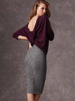 Victoria's Secret Cable-knit Midi Skirt