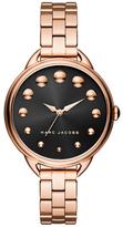 Marc Jacobs Betty Black Dial Three-Hand Watch, 36mm