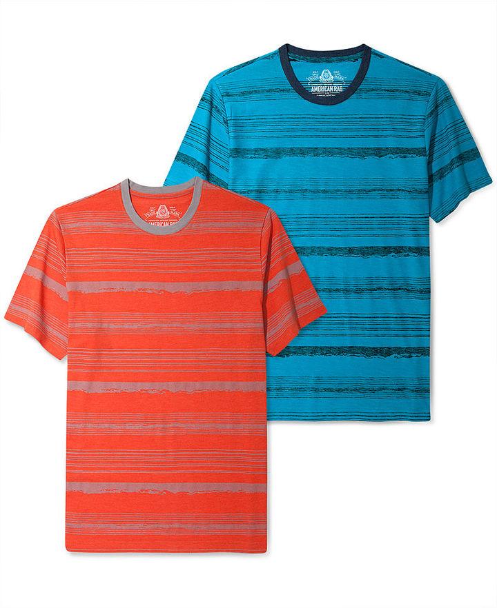 American Rag Shirt, Crew Stripe Every Day Value T Shirt
