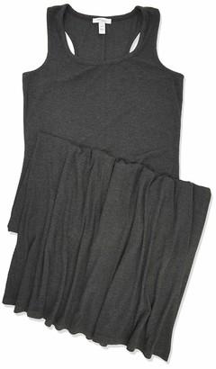 Daily Ritual Rayon Spandex Fine Rib Maxi Dress