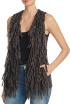 Ella Moss Kamry Fringe Sweater Vest