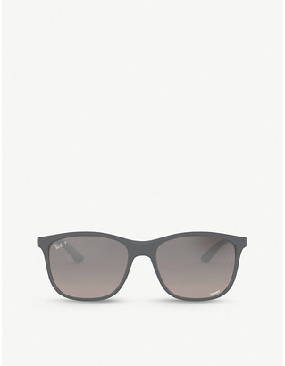 Ray-Ban RB4330CH Chromance acetate square-frame sunglasses