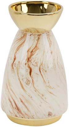 Sagebrook Home Gold Ceramic Vase