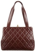 Chanel Quilted Frame CC Bag