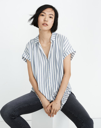 Madewell Central Shirt in Pompano Stripe