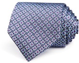 The Men's Store at Bloomingdale's Small Geometric Medallion Classic Tie - 100% Exclusive