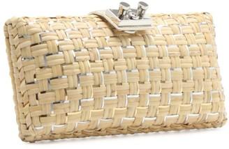 Rodo Small Woven Clutch Bag