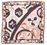 Emilio Pucci Printed Woven Handkerchief