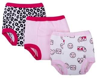 Little Star Organic Assorted Training Pants, 3-pack (Toddler Girls)