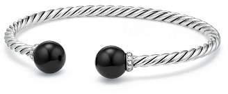 David Yurman Solari Bracelet with Diamonds & Black Onyx
