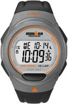 Timex Black Ironman Triathlon Watch T5K607