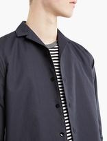 Kolor Navy Wool-blend Shirt