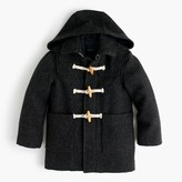 J.Crew Boys' wool toggle coat with Thinsulate®