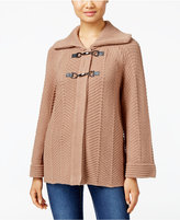JM Collection Petite Toggle-Front Cardigan, Only at Macy's